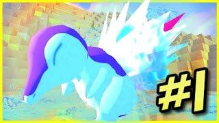Pixelmon Randomizer - EPIC STARTER! (Minecraft Pokemon Mod) #1