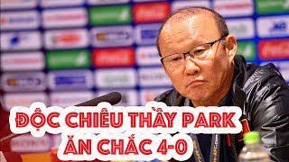 U23 Việt Nam 4-0 U23 Thái Lan, độc chiêu của thầy Park & HLV Thái loạn chiêu