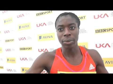 Aviva Birmingham Grand Prix   Christine Ohuruogh Womens 400m
