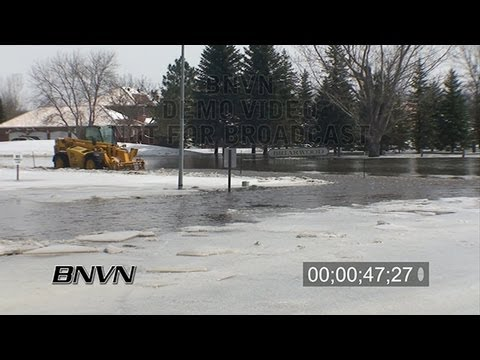 3/27/2009 Fargo, ND Briarwood Area Flooding And Prep Work. - Part 01