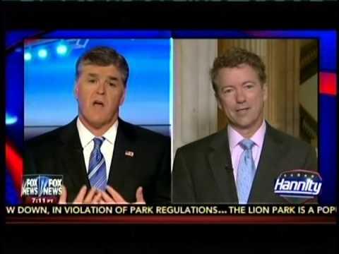 Sen. Rand Paul Appears on Fox's Hannity - June 1, 2015