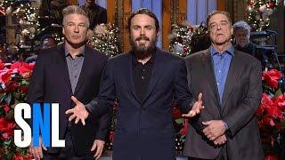 Casey Affleck Christmas Monologue - SNL