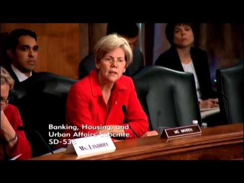 Senator Elizabeth Warren - The Biggert-Waters Flood Insurance Act of 2012: One Year After Enactment
