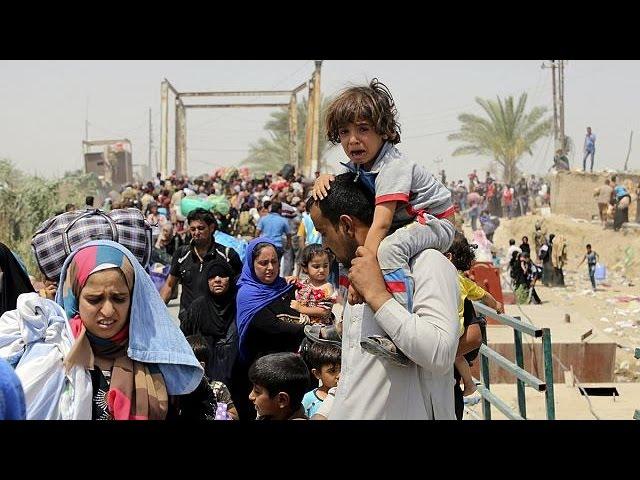 Les réfugiés de Ramadi peuvent enfin passer l'Euphrate et rejoindre Bagdad