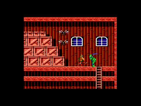 Retron 5 - Demo of Teenage Mutant Ninja Turtles for the NES