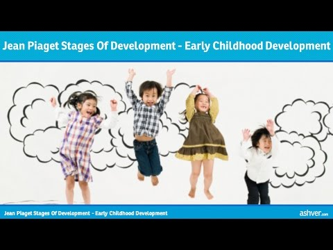 Jean Piaget Stages Of Development - Early Childhood Development