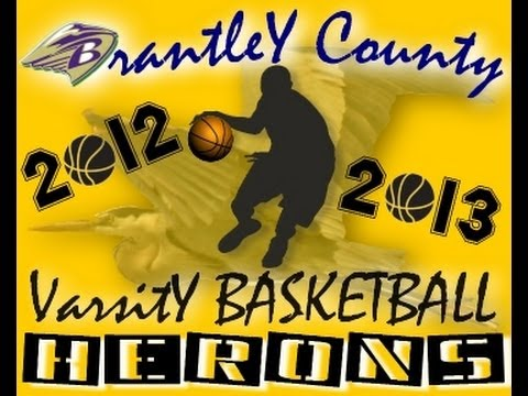 Brantley County High School Basketball Scrimmage Highlights vs Lanier 11-13-2012
