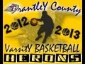 Brantley County High School Basketball Scrimmage Highlights vs Lanier 11-13-2012