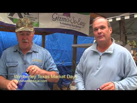Wimberley Texas Men Exfoliate