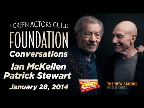 Conversations with Sir Ian McKellen and Sir Patrick Stewart