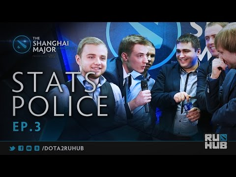 Stats Police #3 @ The Shanghai Major