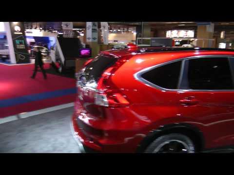 Honda CR-V | Jazz | H-RV Salone di Parigi 2014. HDmotori.it