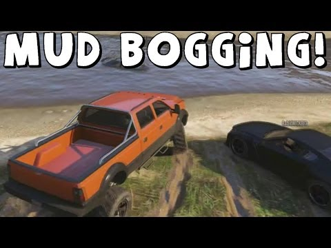 Grand Theft Auto 5 | Mud Bogging And Offroading | Feat. AR12Gaming