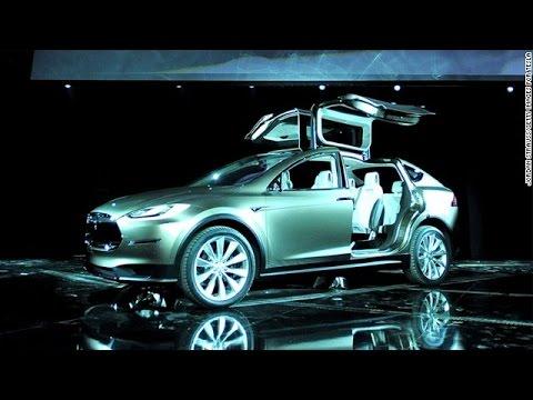 New Tesla electric car unveiled