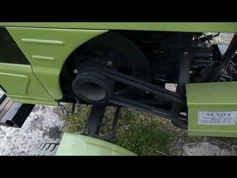 Разблокировка на мини тракторе. на tubethe.com