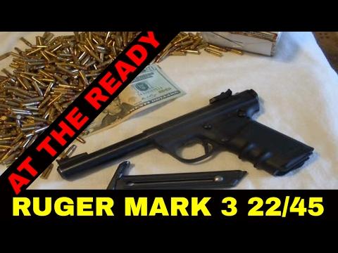 RUGER MARK III 22/45 .22LR