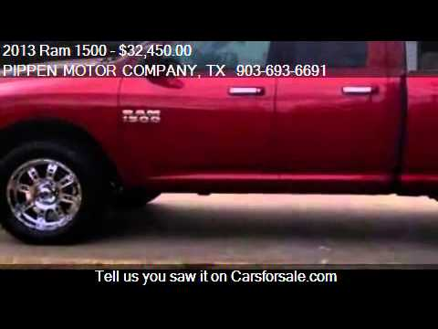 2013 Ram 1500 SLT for sale in Carthage, TX 75633 at PIPPEN M