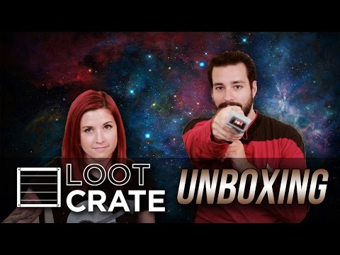Loot Crate Unboxing! - 'Galactic!' (Sept 2014)