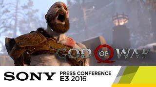 God of War - Official E3 2016 Gameplay Demo