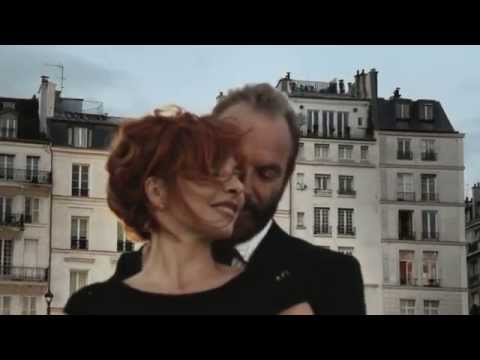 Mylène Farmer & Sting Stolen Car (Behind The Scenes)