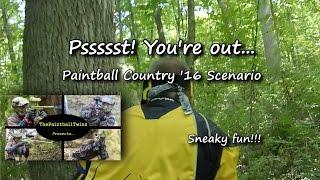 Game 1, Paintball Country Ohio, Fallout Scenario, ThePaintballTwins