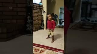Cute baby dancing ethiopian music yared negu zelelaye