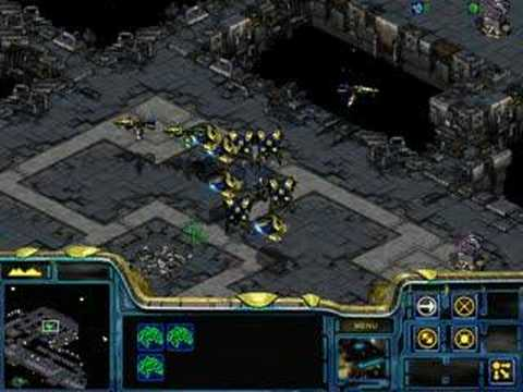Starcraft Brood War - Protoss 05 Battle of Braxis in 3:33