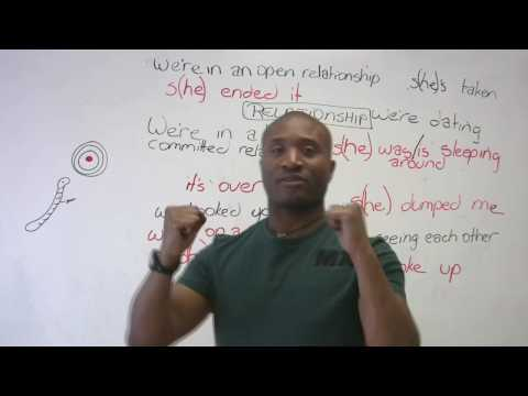English Vocabulary – Love, Dating, and Relationships