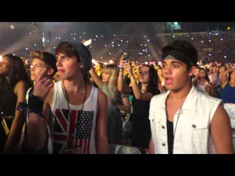 FIYM @ One Direction's Where We Are Tour.