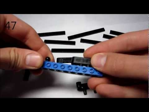 lego sniper rifle instruction part 2