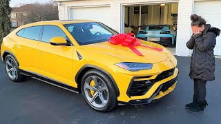 I BOUGHT MY GIRLFRIEND A NEW LAMBORGHINI FOR VALENTINE'S DAY!!! *EMOTIONAL*
