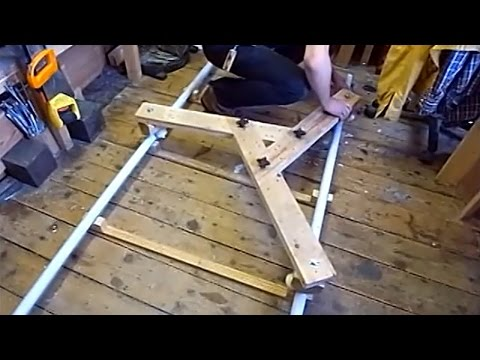 Compact DIY Camera Dolly Made From Recycled Wooden Pallet - Savvas Papasavva