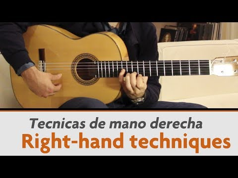 Analysis Of Right-hand Flamenco Guitar Techniques