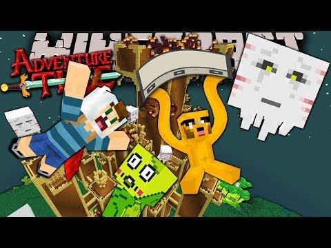 Minecraft: Adventure Time Grass Ogre Ambush Trapped in Twilight Forest Episode 12