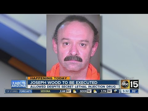 Joseph Wood to be executed Wednesday