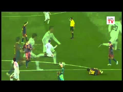 Gol anulado de Higuain - FC Barcelona vs. Real Madrid (1-1) / Champions Leage