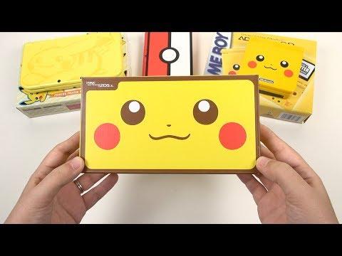 Pikachu Edition: NEW 2DS XL Unboxing & Comparisons