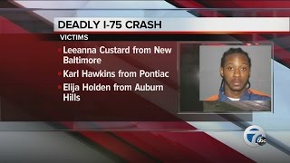 Victims identified in I-75 fatal crash