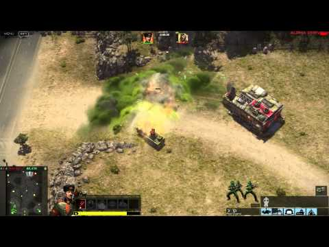 Command & Conquer 2013 Alpha Gameplay - APA Taskmaster vs GLA Thrax (Toxin) Music Videos
