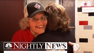 Meet the Woman Serving Food and Inspiration to Generations of Students | NBC Nightly News