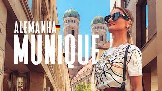 O que fazer em Munique na Alemanha? Vlog de viagem na Europa - Ep. 2