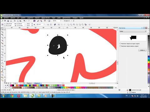 Tutorial Corel Draw, Como hacer flores (basico) C.A.R.T.