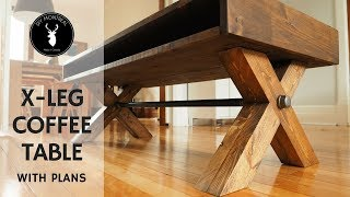 (8.67 MB) X Leg Coffee Table | with PLANS Mp3