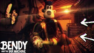 SECRET ENDING IN CHAPTER 4!! O-O PLUNGER TOOL! | Bendy and the Ink Machine [Chapter 4] Hacking & End
