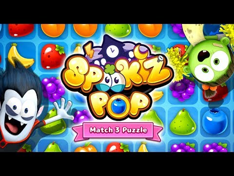 SPOOKIZ POP | Match 3 Puzzle Game | Official Gameplay Trailer | Best Apps for Kids