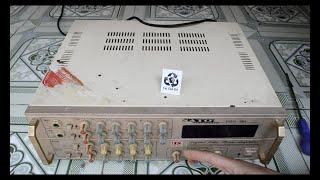 Thử tháo amplifier  ra xem thấy bất ngờ