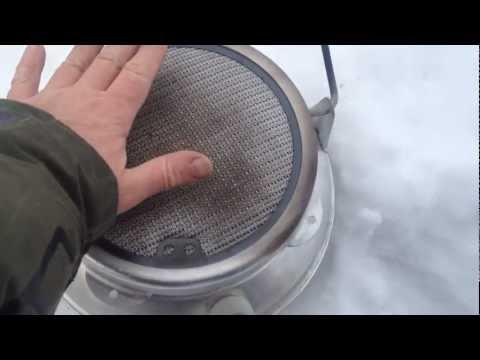 Каталитический обогреватель бензиновый своими руками