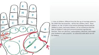 "Palmistry "" palm reading "" love line and marriage lines, deep feelings, children 
