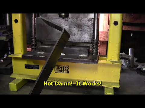 How to Build a Press Brake