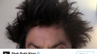 Look Who Gave Shahrukh Khan A Funky Hairstyle In Lisbon